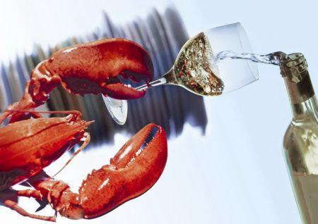 Coastal Provisions, Lobster Dinner Sake or Wine