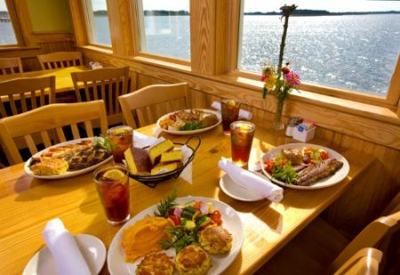 Basnight's Lone Cedar Outer Banks Seafood Restaurant, Bethany Church Fundraiser Lunch