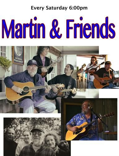 Ocracoke Oyster Company, * Canceled * Martin & Friends