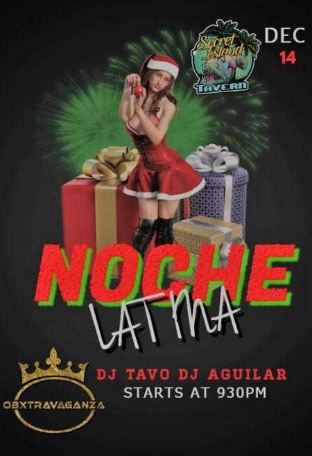 Secret Island Tavern Outer Banks, Noche Latina Fiesta de Navidad