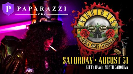 Paparazzi OBX Concert & Event Venue, Nightrain: The Guns N' Roses Experience