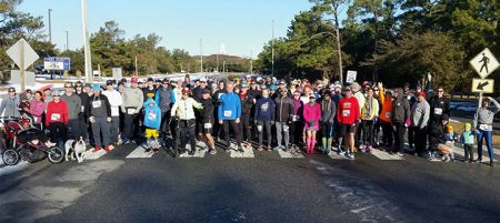 Outer Banks Running Club, Frostbite 5K - Annual Membership Run