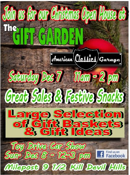 Gift Garden & American Classics Garage, Holiday Open House