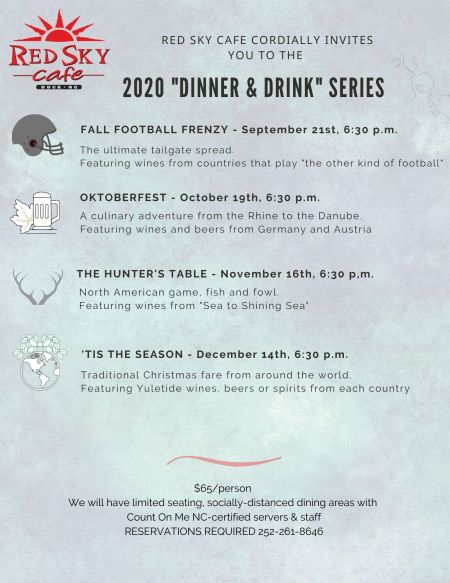 Red Sky Cafe, Dinner & Drink Series: Oktoberfest
