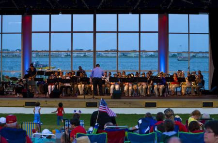 Roanoke Island Festival Park, July 4th Concert with the 208th Army Band
