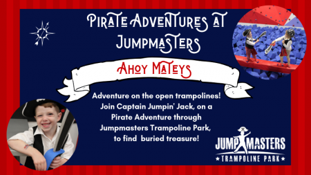 OBX Events, Pirate Adventures at Jumpmasters