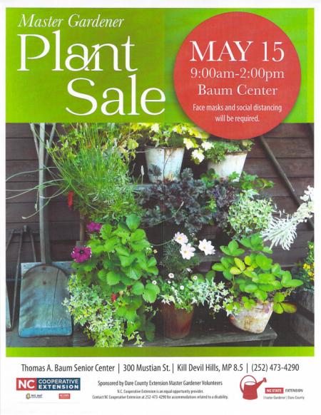 Dare Master Gardener Association, Dare Master Gardener Volunteer Plant Sale