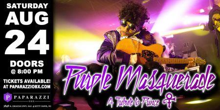 Paparazzi OBX Concert & Event Venue, Purple Masquerade: A Prince Tribute