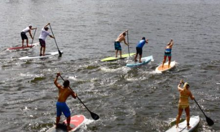 Kitty Hawk Surf Co., OBX SUP Race - Manteo