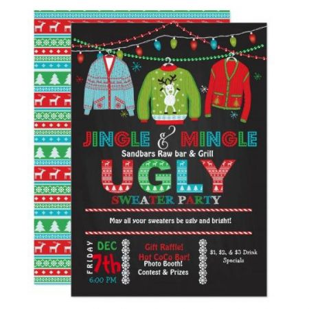 Sandbars Raw Bar & Grill Outer Banks, Ugly Sweater Party