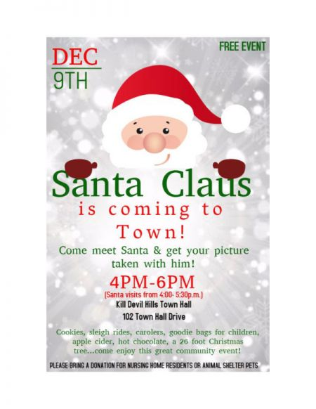 OBX Events, Santa Claus is coming to town!