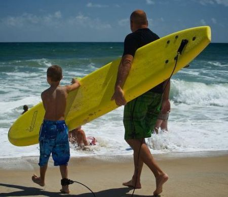 Surfing for Autism, Meet & Greet at Jennette's Pier