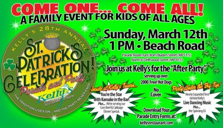 Kelly's Outer Banks Restaurant & Tavern, St. Patrick's Parade