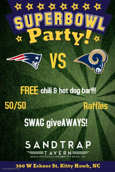 Sandtrap Tavern, Super Bowl LIII Party at the Trap