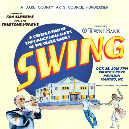 Dare County Arts Council, SWING! A Gala Benefit for Hope and Healing Through the Arts