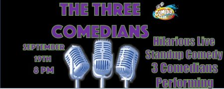 Comedy Club of the Outer Banks, The Three Comedians - Dylan Vattelana, Melissa Douty, Greg Smrdel