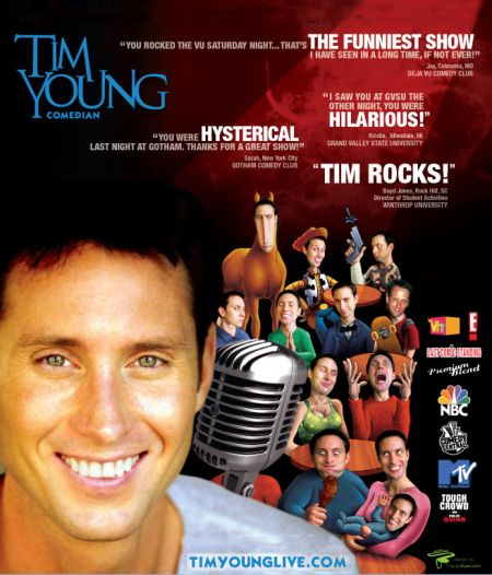 Comedy Club of the Outer Banks, Tim Young with Von Mychael