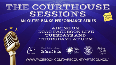 Dare County Arts Council, The Courthouse Sessions