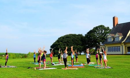 Whalehead, Yoga at Historic Corolla Park