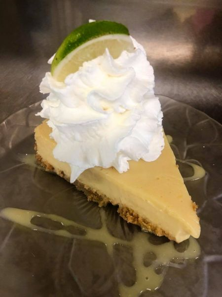 Sonny's Restaurant on the Hatteras Waterfront Outer Banks, Keylime Pie