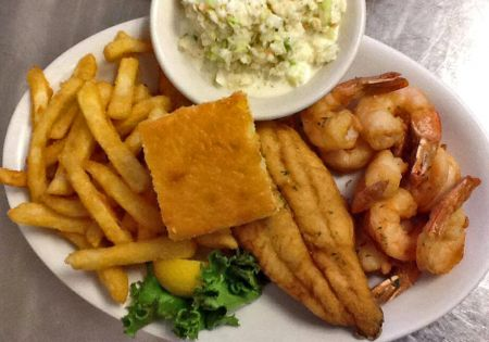 Sam & Omie's Restaurant, Seafood Combo - Choice of Two Items