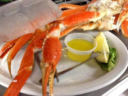 Sam & Omie's Restaurant, Crab Legs