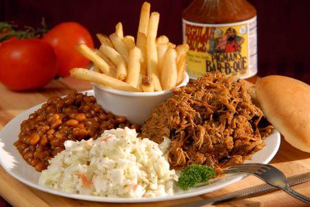Pigman's Bar-B-Que, Pork BBQ plate