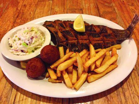 Darrell's Seafood Restaurant, Flounder