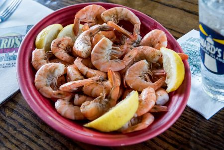 Howard's Pub, Steamed Shrimp