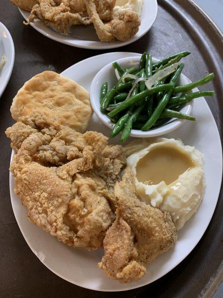 Diamond Shoals Restaurant, Fried Chicken Every Sunday