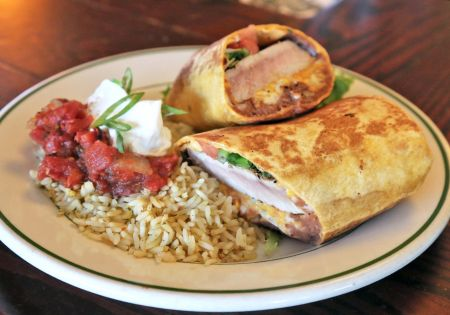 Red Drum Grille & Taphouse, Gamefish Burrito
