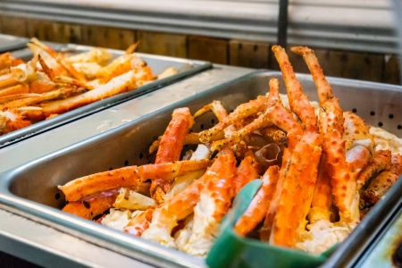 Jimmy's Seafood Buffet, Crab Legs