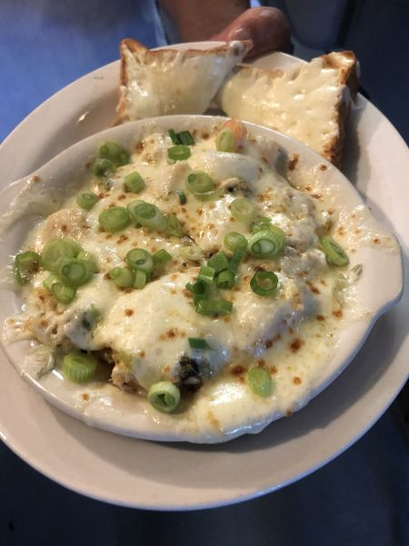 Diamond Shoals Restaurant, Seafood Augratin