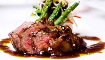 Argyle's Restaurant, Seared Grass Fed Filet Mignon 6oz