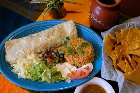 La Fogata Mexican Restaurant Kitty Hawk, Burrito Jalisco