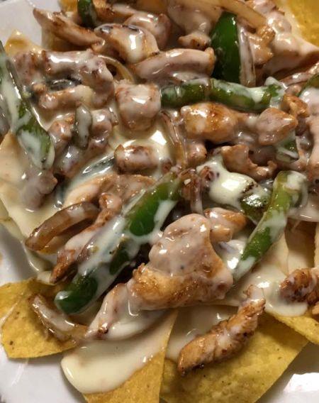 Shaddai Peruvian Restaurant, Chicken Nachos