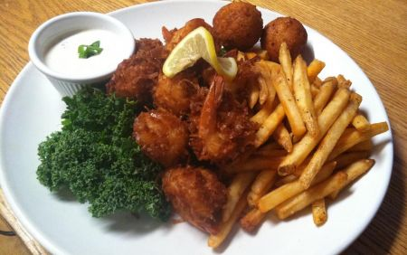 Mulligan's Grille, Coconut Shrimp