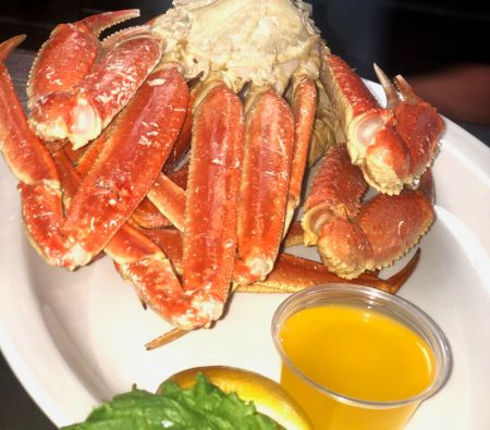 Alaskan Snow Crab Legs Diamond Shoals Restaurant