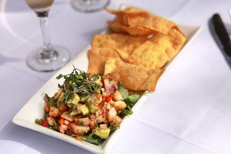 Dajio Restaurant, Scallop Ceviche