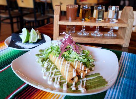 Agave Roja Mexican Restaurant Corolla NC, Flautas de Pollo