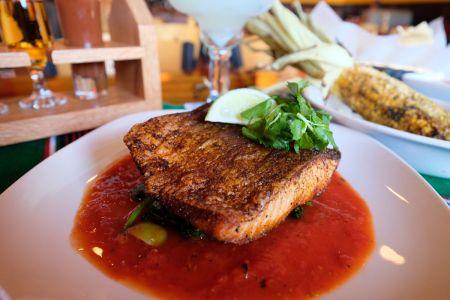 Agave Roja Mexican Restaurant Corolla NC, Pescado Veracruzano