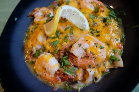 Uncle Ike's Sandbar & Grill, Shrimp and Grits