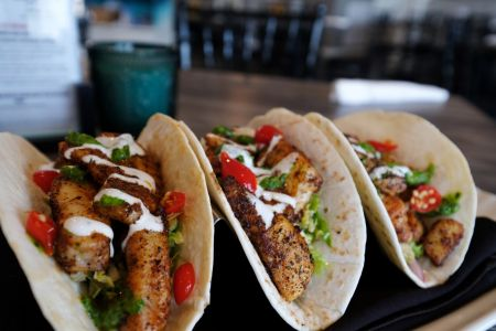 Avenue Waterfront Grille, Fish Tacos