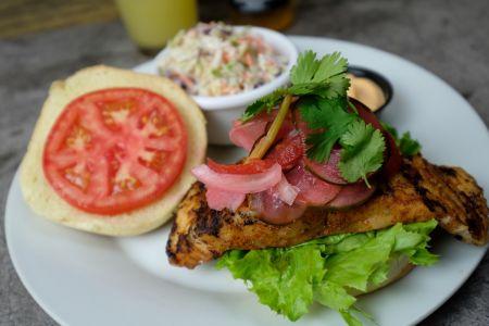 North Banks Restaurant & Lounge, North Carolina Yellowfin Tuna Sandwich