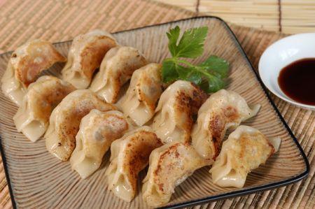 Khan's Mongolian Grill, Gyoza (Pork Dumpling)