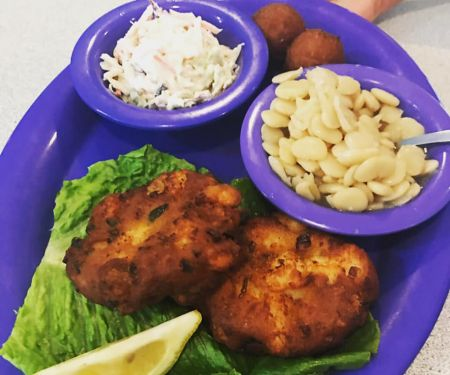 Darrell's Seafood Restaurant Manteo, Fish Cakes