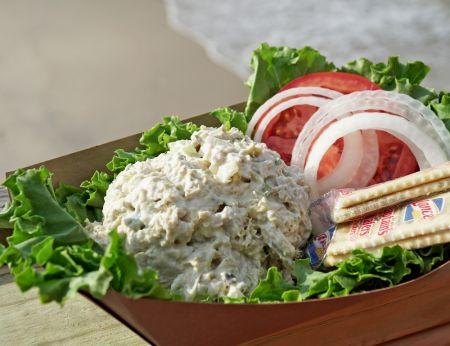 Fish Head's Bar & Grill, Fresh Tuna Salad