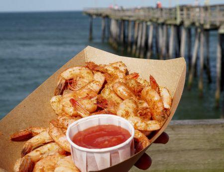 Fish Head's Bar & Grill, Steamed Shrimp