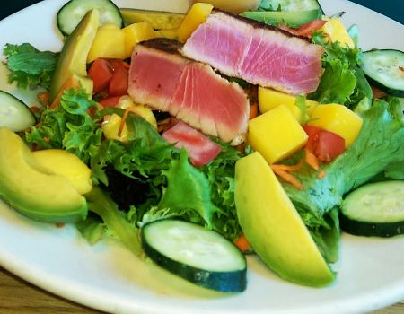Gaffer's Restaurant on Ocracoke Island, Citrus Tuna Salad