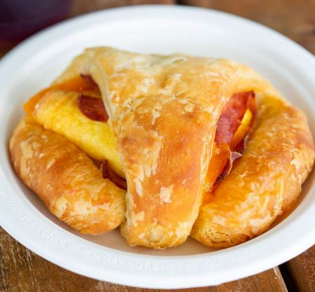 Outer Banks Coffee Company, Ham, Egg & Cheese Croissant